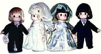 "12"" Brides & Grooms"