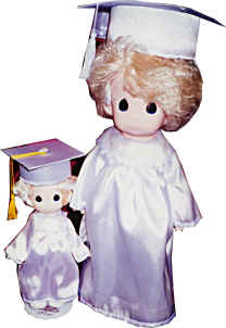 "9"" Graduation Doll"