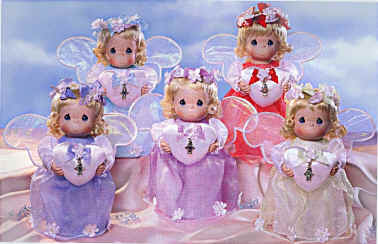 Porcelain Birthstone Angels