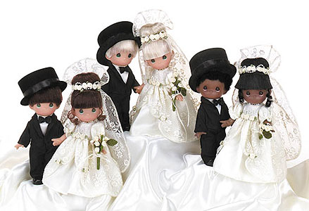 "7"" Brides & Grooms"
