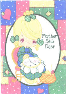 Mother Sew Dear Blanket/Throw