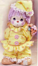 Love Is On Its Way Clown Doll