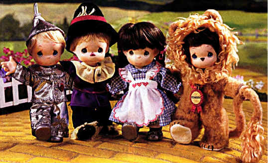 The Wizard of Oz Dolls!
